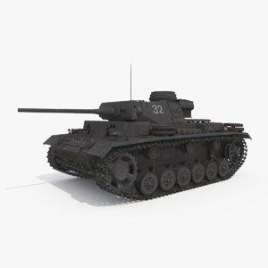 3d panzer iii ausf l