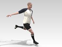 footballer rigged max