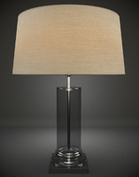 3d model glass table lamp interior