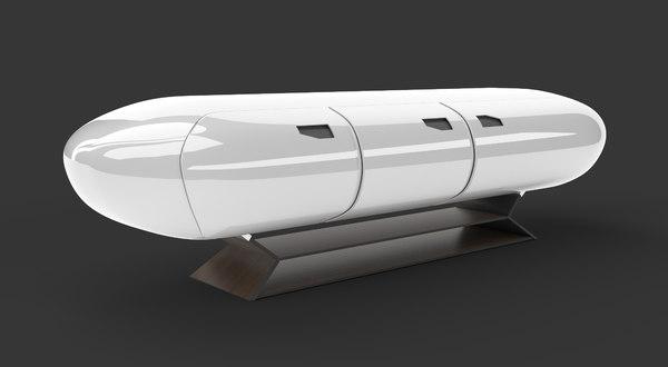 3d model of dresser