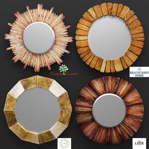 3d mirror classics wall model
