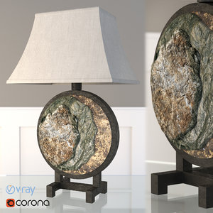 3d render corona model