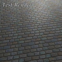 sett paving belgian blocks texture