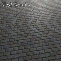 sett paving belgian blocks texture