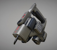motion tracker prop pbr obj