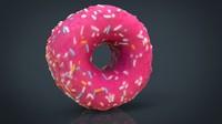 pink donut obj