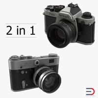 vintage cameras 3ds