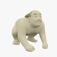 Netsuke Sumo Wrestler