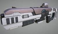 Laser Rifle Gun PBR