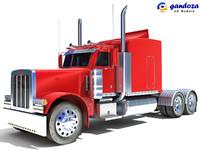 heavy truck 3d model