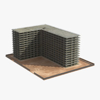 building construction 4 3d model