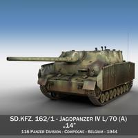 jagdpanzer iv l 70 3ds