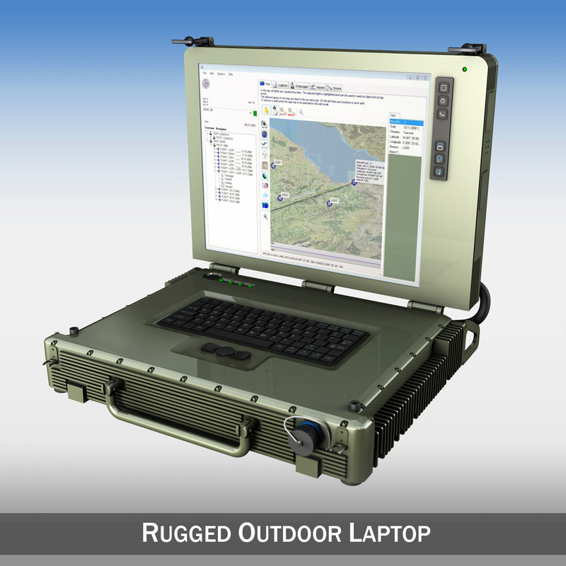 cinema4d rugged outdoor laptop