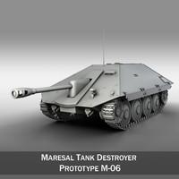 maya maresal m-05 romanian tank