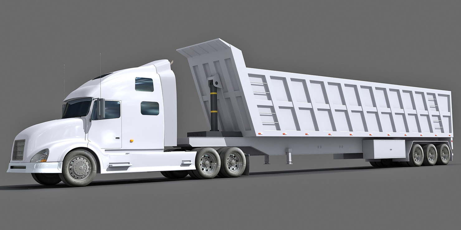 max truck dump trailer