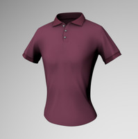 Female tight polo