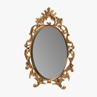 3d ornate mirror