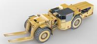 3d loader mines model