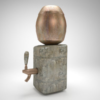 stone bar drinkers 3d model