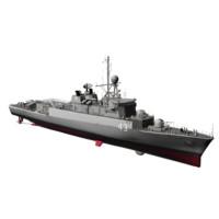 3d model meko 140 argentine navy