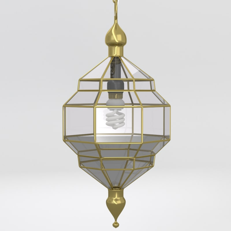 lamp lighting 3d obj