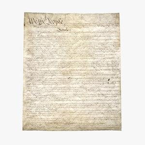 constitution flat 02 3d max