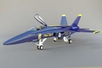 aircraft fa-18 3d model