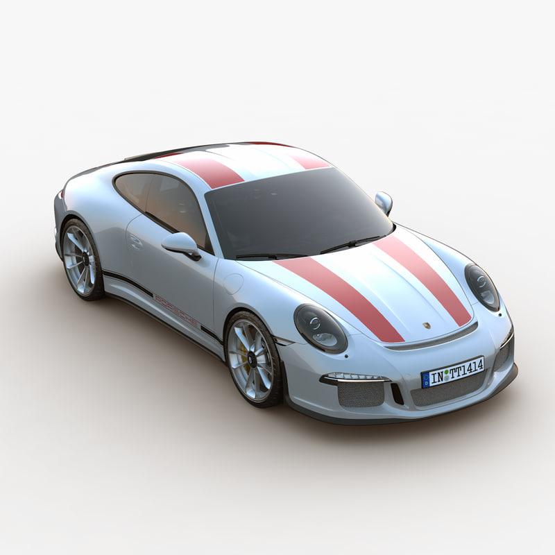3d model ultra 2017 porsche 911