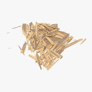 splintered wood 02 max