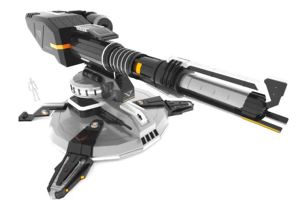sci-fi turret f48 max
