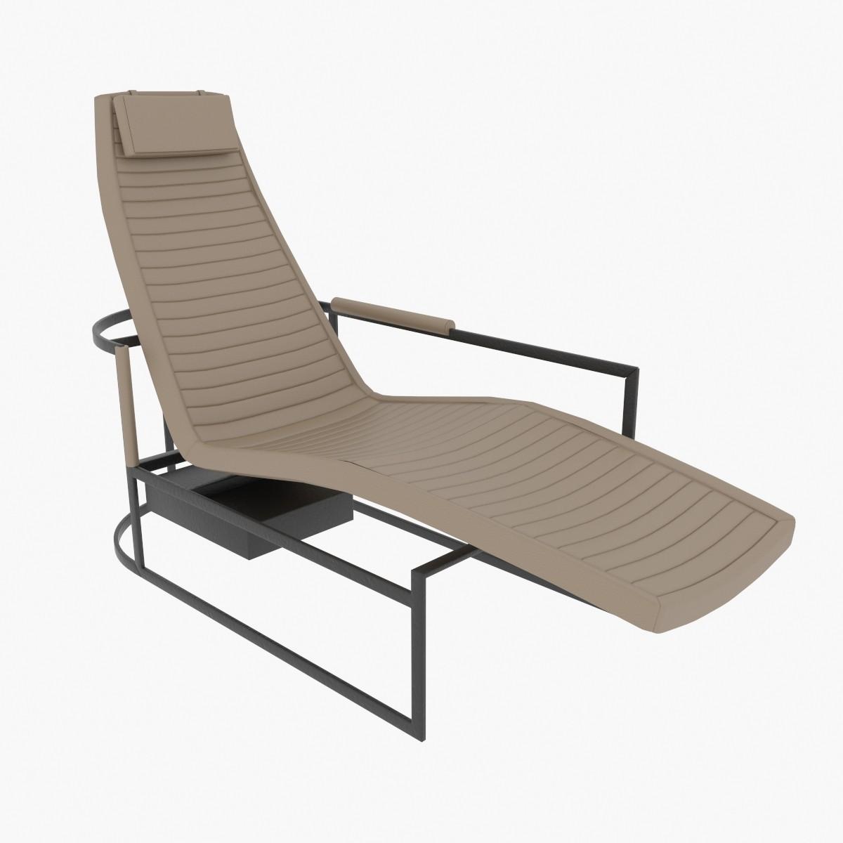 3d model chaise james