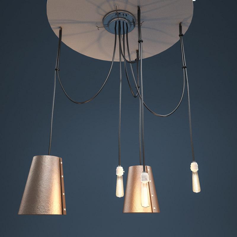 edison lamp 3d model