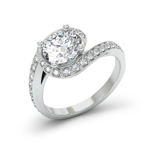 engagement ring 1 3d max