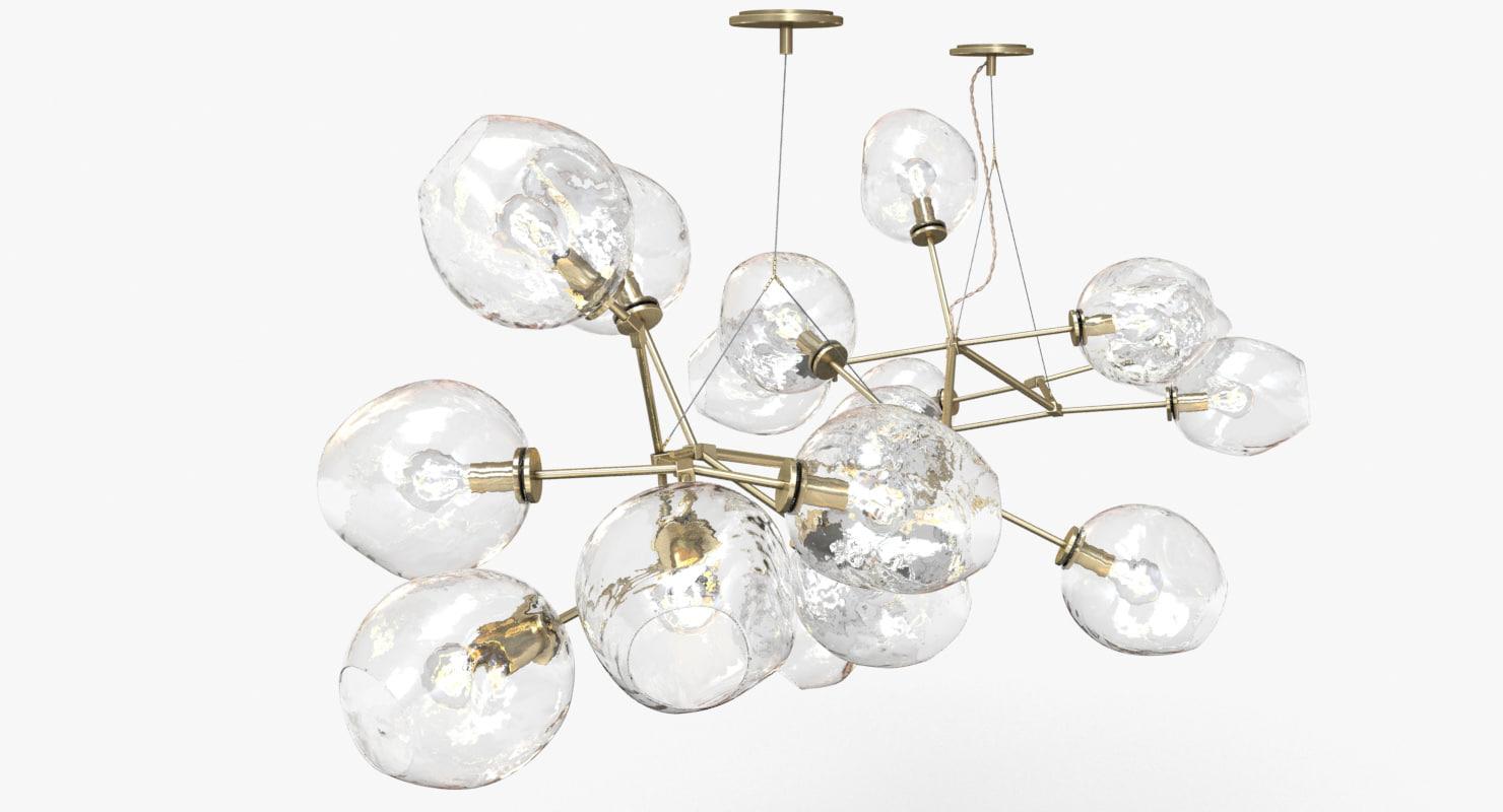 lindsey adelman 18-globe branching 3d max