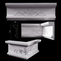 decorate classical facades 3d model