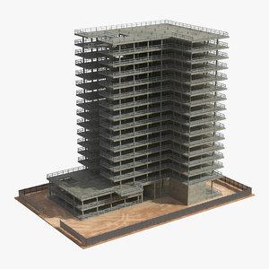 building construction 2 3d model