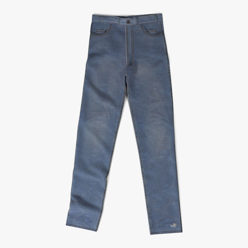 jeans 4 3d 3ds