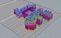 3d model fundacion miro y centro