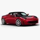 Tesla Roadster 3D models