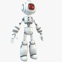 robot character humanoid 3d max