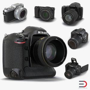 cameras 2 3d model