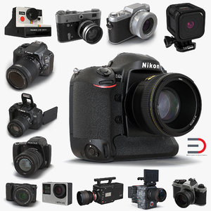 max cameras modeled polaroid gopro