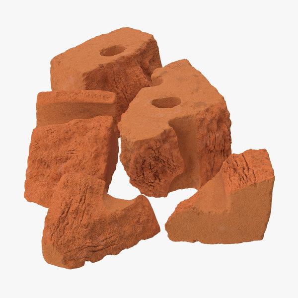 3d bricks broken 04