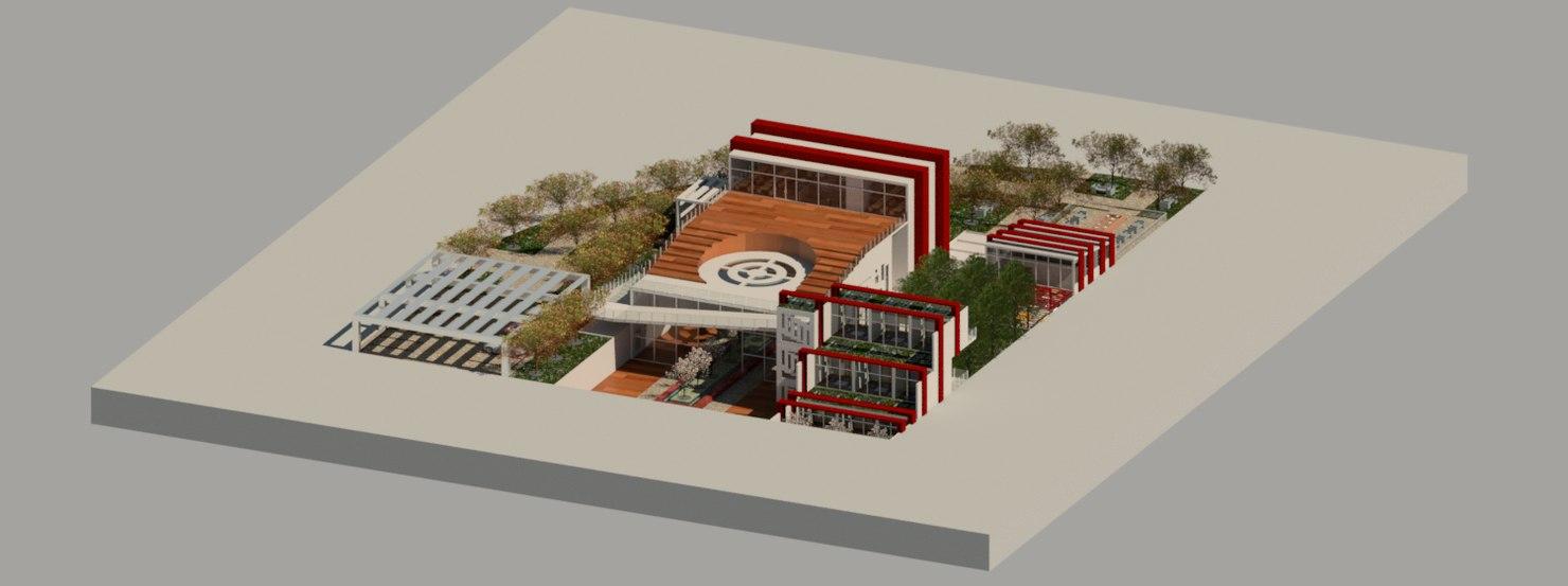 3d rvt spiritual center