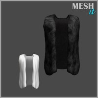 obj vest fur male