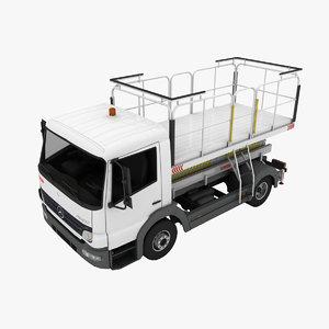 3d model mallaghan medical lift