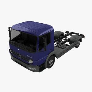 mercedes-benz atego 3d model