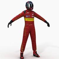 3d model abt formula e driver