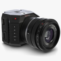Blackmagic Micro Camera with Lens