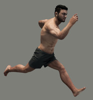 Realistic Male Body - Rigged